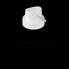 "Molotow Röhrchen-Cap ""Skinny"" weiß"