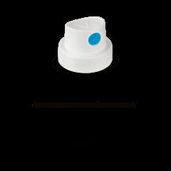 "Molotow Cap ""SmoothSoft"" weiß/blau"